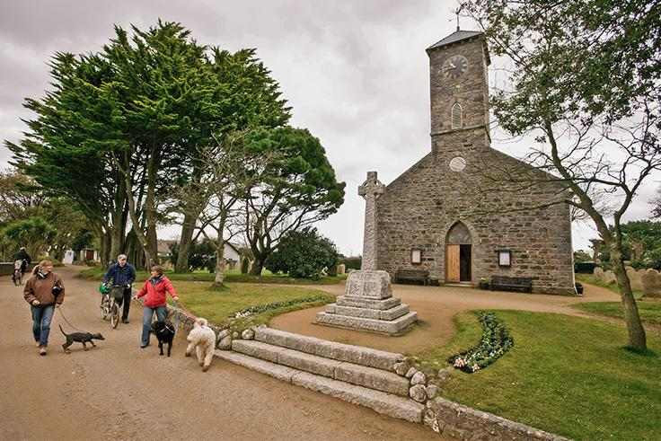 Sark Church Gallery Row