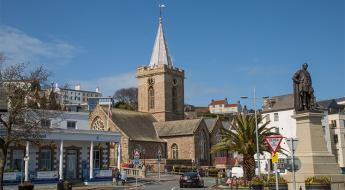 Town Church Panel